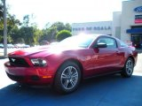 2011 Red Candy Metallic Ford Mustang V6 Premium Coupe #38548922