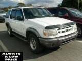 2001 Oxford White Ford Explorer XLT 4x4 #38548654