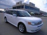 2010 White Platinum Tri-Coat Metallic Ford Flex Limited AWD #38549528