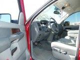 2008 Dodge Ram 3500 Laramie Mega Cab 4x4 Medium Slate Gray Interior