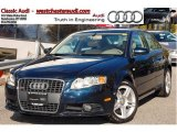 2008 Deep Sea Blue Pearl Effect Audi A4 2.0T quattro Sedan #38549290