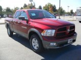 2011 Dodge Ram 1500 Deep Cherry Red Crystal Pearl
