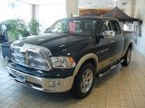 2011 Hunter Green Pearl Dodge Ram 1500 Laramie Crew Cab 4x4 #38549584