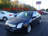 2008 Dark Blue Ink Metallic Ford Fusion SE #38548998