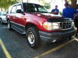 2000 Toreador Red Metallic Ford Explorer XLT 4x4 #38548731