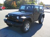 2011 Black Jeep Wrangler Rubicon 4x4 #38549587