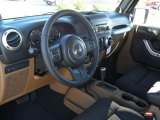 2011 Jeep Wrangler Rubicon 4x4 Black Interior