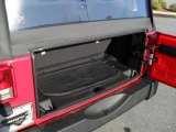 2011 Jeep Wrangler Sport 4x4 Trunk