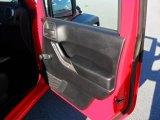 2011 Jeep Wrangler Sport 4x4 Door Panel