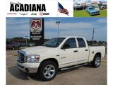 2008 Cool Vanilla White Dodge Ram 1500 Big Horn Edition Quad Cab #38549014