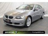 2008 Space Grey Metallic BMW 3 Series 328xi Coupe #38548745