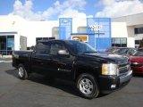 2007 Black Chevrolet Silverado 1500 LT Z71 Crew Cab 4x4 #38549039