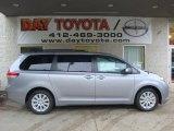 2011 Silver Sky Metallic Toyota Sienna LE AWD #38548787