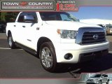 2007 Super White Toyota Tundra Limited CrewMax 4x4 #38549358