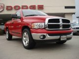 2005 Flame Red Dodge Ram 1500 SLT Regular Cab #38549360