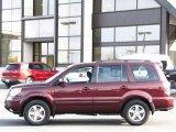 2007 Dark Cherry Pearl Honda Pilot EX-L 4WD #38549379