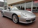 2009 Porsche 911 GT Silver Metallic