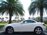 2010 Mercedes-Benz SLK Arctic White