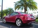 2010 Mercedes-Benz SLK Storm Red Metallic