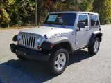 2011 Bright Silver Metallic Jeep Wrangler Rubicon 4x4 #38623163