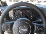 2011 Jeep Wrangler Rubicon 4x4 Steering Wheel