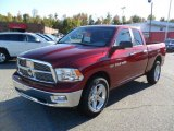 2011 Deep Cherry Red Crystal Pearl Dodge Ram 1500 Big Horn Quad Cab 4x4 #38623167
