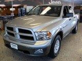 2011 Bright Silver Metallic Dodge Ram 1500 SLT Outdoorsman Crew Cab #38623169