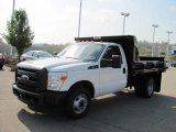 2011 Ford F350 Super Duty XL Regular Cab Chassis Dump Truck Data, Info and Specs