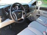 2010 Chevrolet Silverado 1500 LT Crew Cab Light Titanium/Ebony Interior