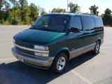 2001 Chevrolet Astro Dark Forest Green Metallic