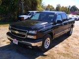 2006 Black Chevrolet Silverado 1500 LT Crew Cab #38623189