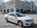 2010 White Suede Ford Fusion SEL #38622544