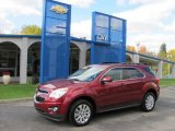 2010 Cardinal Red Metallic Chevrolet Equinox LT AWD #38622763
