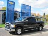 2004 Black Dodge Ram 1500 SLT Quad Cab 4x4 #38622768