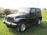 2007 Jeep Wrangler Black