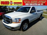 2006 Bright White Dodge Ram 1500 SLT Regular Cab #38623223