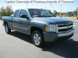 2008 Blue Granite Metallic Chevrolet Silverado 1500 LT Extended Cab #38623231