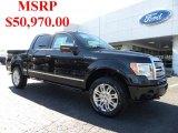 2010 Tuxedo Black Ford F150 Platinum SuperCrew 4x4 #38622831
