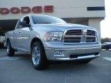 2011 Bright Silver Metallic Dodge Ram 1500 Big Horn Quad Cab #38623069