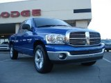 2008 Electric Blue Pearl Dodge Ram 1500 SLT Quad Cab #38623074