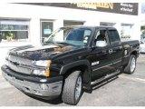 2005 Black Chevrolet Silverado 1500 LS Extended Cab 4x4 #38623322