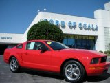 2006 Torch Red Ford Mustang V6 Deluxe Coupe #375870