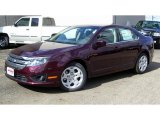 2011 Bordeaux Reserve Metallic Ford Fusion SE #38674292