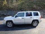 2007 Bright Silver Metallic Jeep Patriot Sport 4x4 #38674578