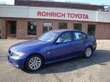 2007 Montego Blue Metallic BMW 3 Series 328xi Sedan #38674324