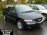 Deep Slate Pearlcoat Chrysler Town & Country in 2000