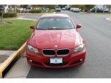 2009 Crimson Red BMW 3 Series 328xi Sedan #38689548