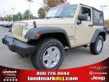 2011 Sahara Tan Jeep Wrangler Sport S 4x4 #38689909