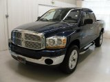 2006 Patriot Blue Pearl Dodge Ram 1500 ST Quad Cab 4x4 #38690627