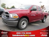2011 Deep Cherry Red Crystal Pearl Dodge Ram 1500 ST Quad Cab #38689914